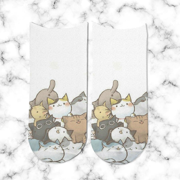 Socks Cats Juntitos