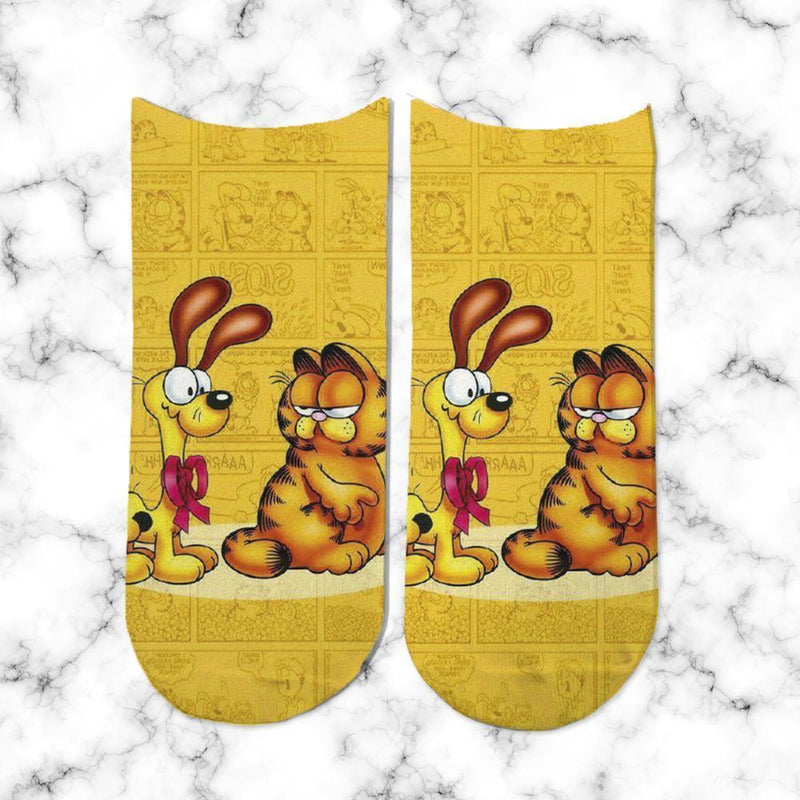 Socks Garfield Angry - Space Store Chile