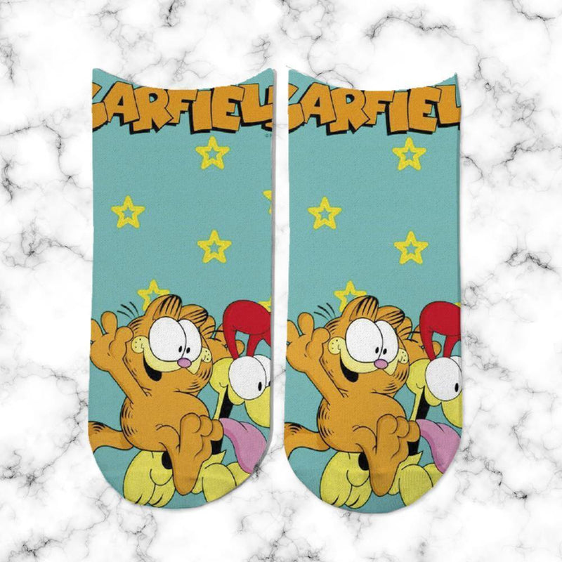 Socks Garfield Happy - Space Store Chile
