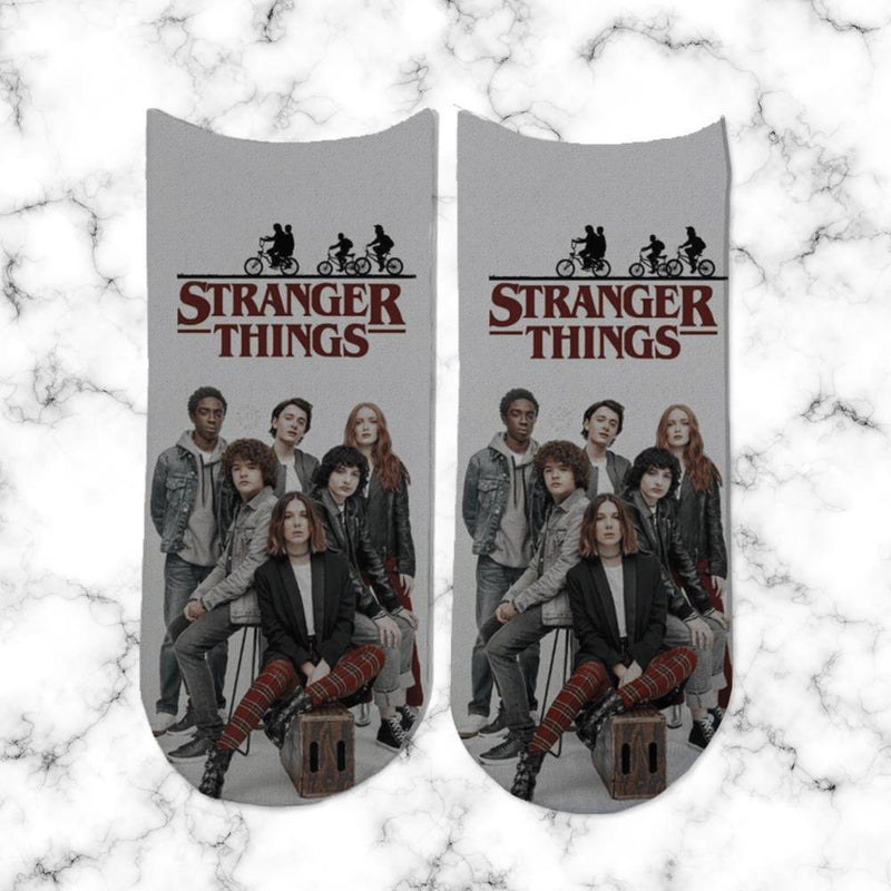 Socks Stranger Things Personajes 1 - Space Store Chile