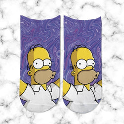 Socks Homero Holografico