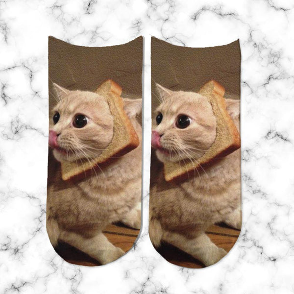 Socks Sandwich de Gato - Space Store Chile