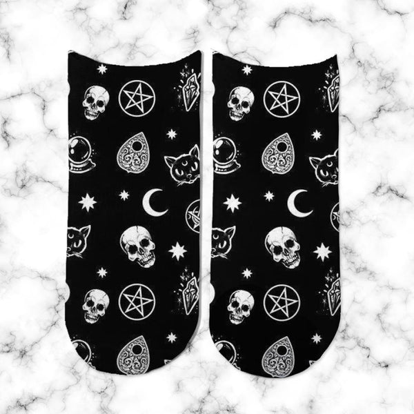 Socks Black Symbols - Space Store Chile