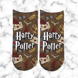 Socks Harry Potter Cartas y Letras - Space Store Chile