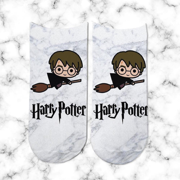 Socks Harry Potter Escoba - Space Store Chile