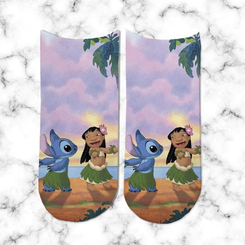 Socks Lilo & Stitch Dancing Sunset - Space Store Chile