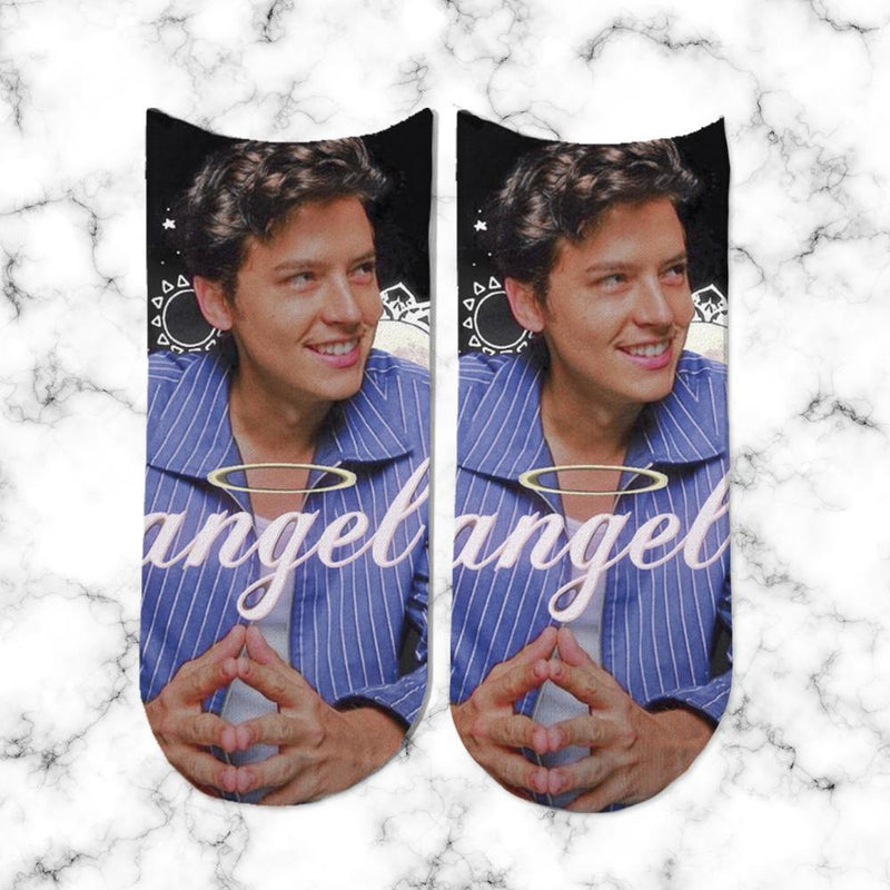 Socks Cole Sprouse Angel - Space Store Chile