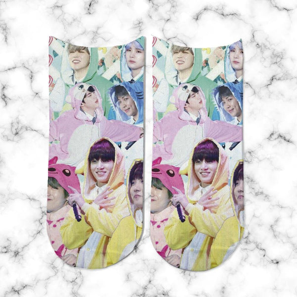 Socks BTS in Pijamas - Space Store Chile