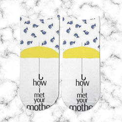 Socks How I Met Your Mother Paraguas - Space Store Chile