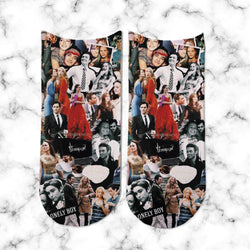 Socks Gossip Girl Collage 2 - Space Store Chile