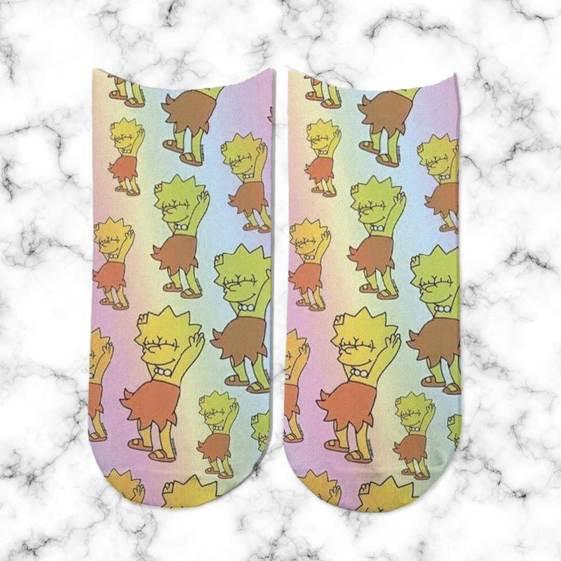 Socks Lisa Simpsons Dancing - Space Store Chile