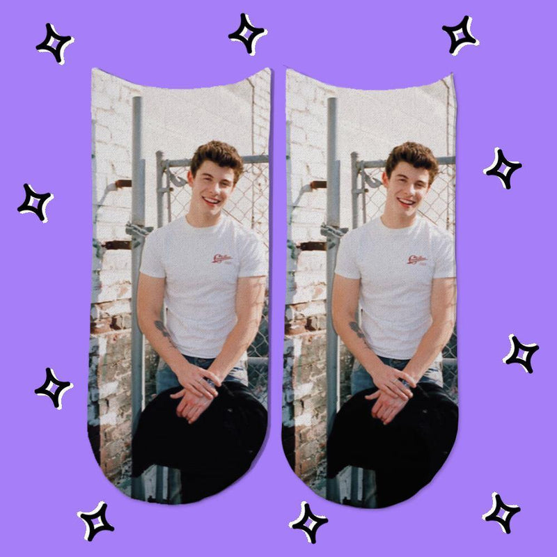 Socks Shawn Mendes Modelo 3 - Space Store Chile