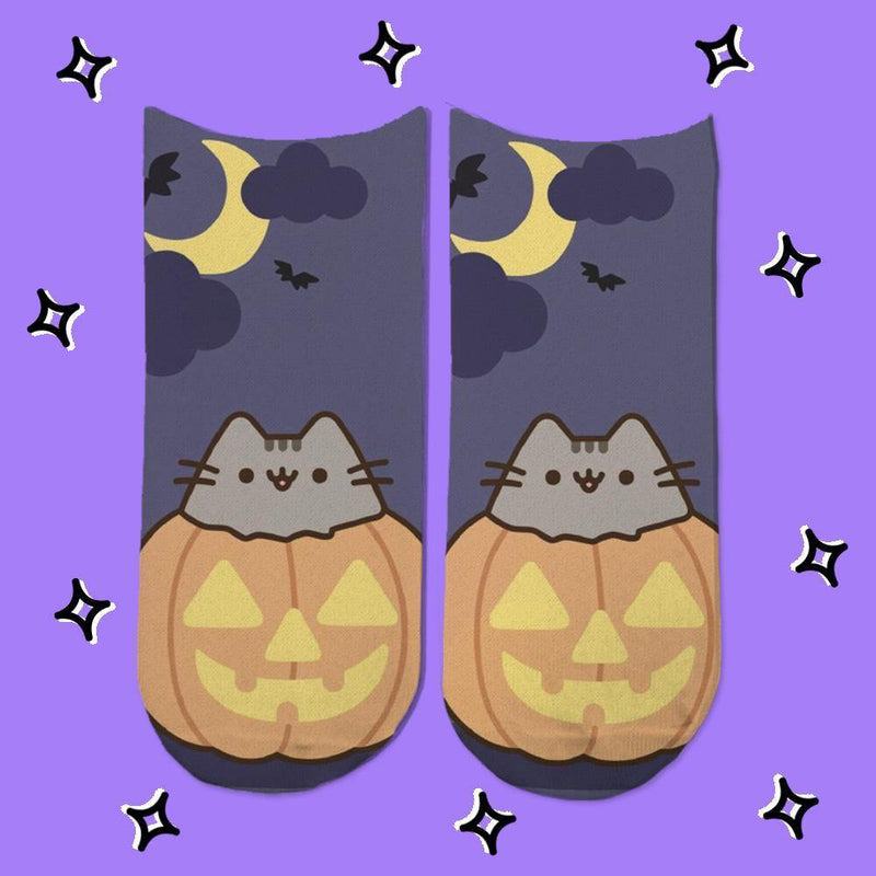 Socks Pusheen Halloween 3 - Space Store Chile