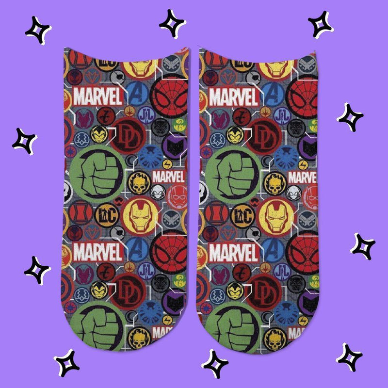 Socks Avengers Symbols - Space Store Chile