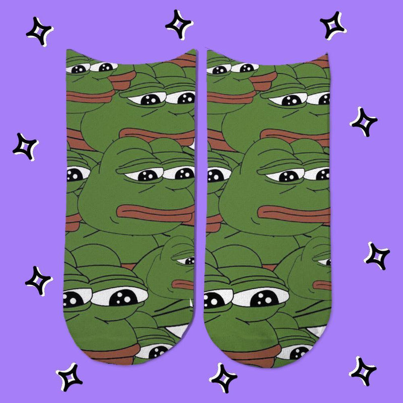 Socks Pepe the frog - Space Store Chile