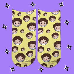 Socks Princesa Leia Emoji - Space Store Chile