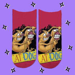 Socks Cat Dog Smile - Space Store Chile