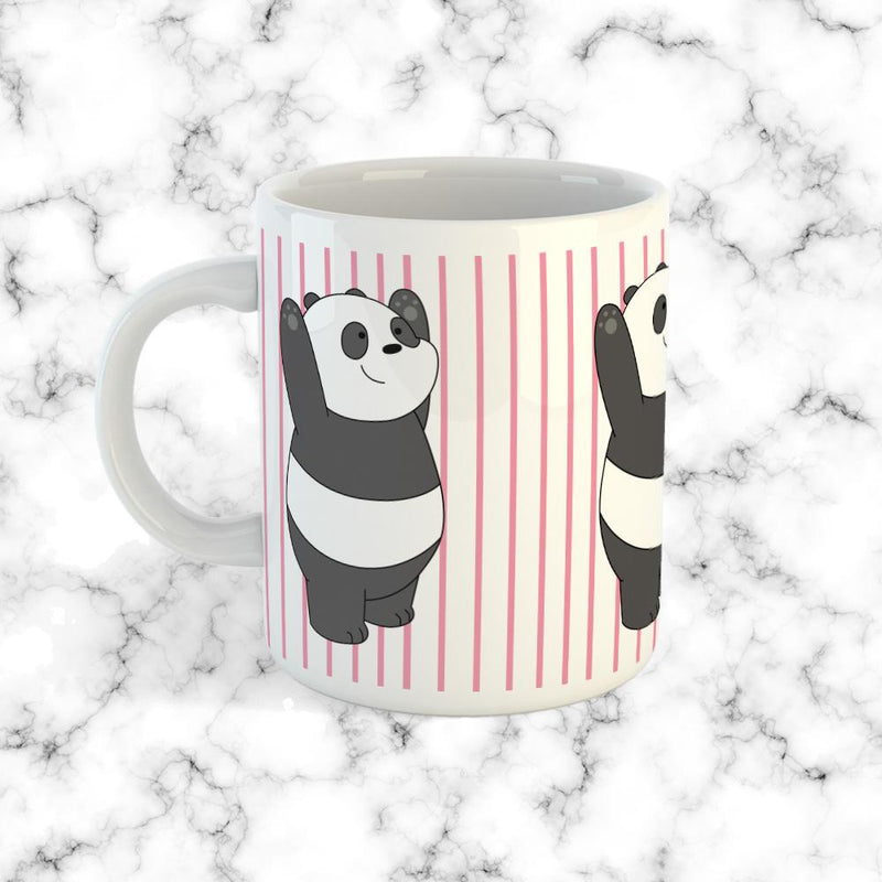 Taza Panda We Bare Bears - Space Store Chile