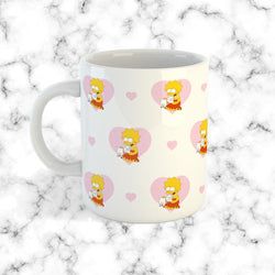 Taza Lisa Animalista Patron - Space Store Chile