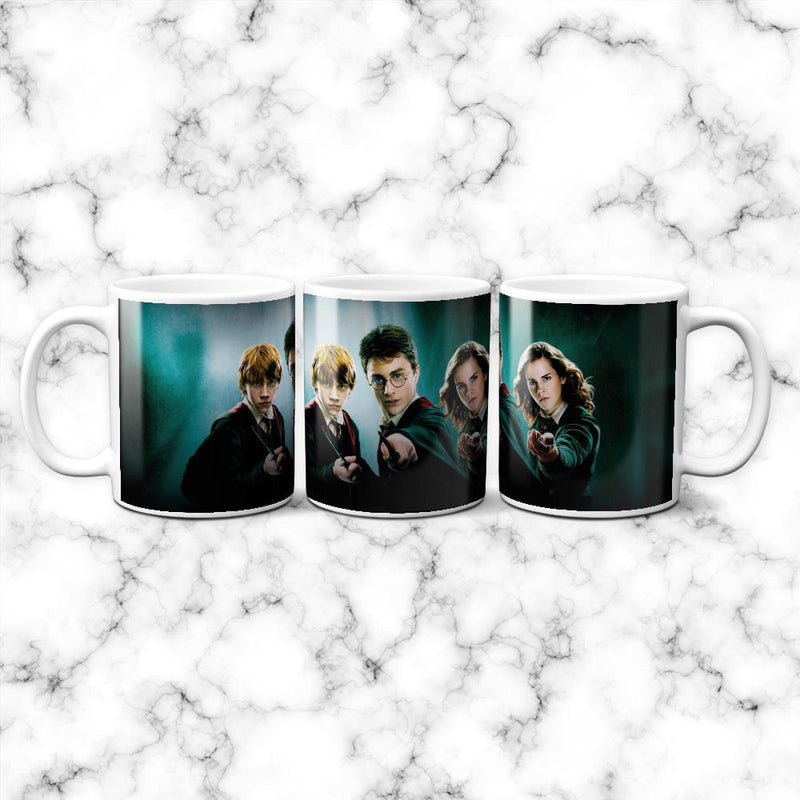 Taza Harry Ron & Hermione - Space Store Chile