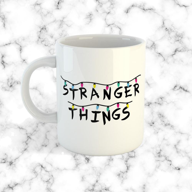 Taza Stranger Things Lights - Space Store Chile