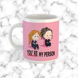 Taza You're My Person Rosada - Space Store Chile