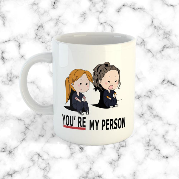 Taza You're My Person Blanca - Space Store Chile
