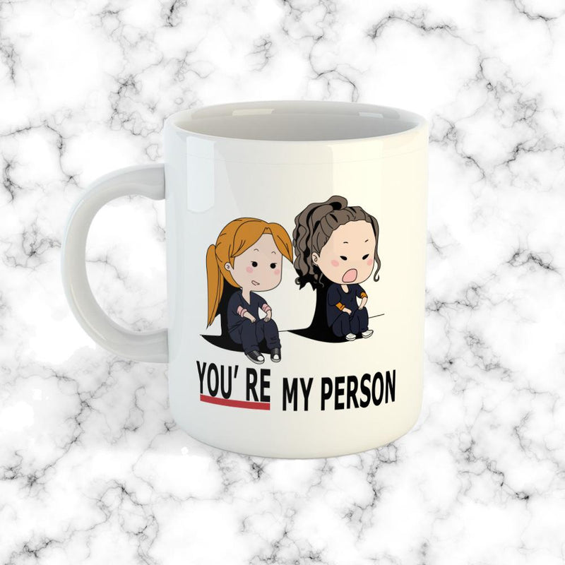 Taza You're My Person Blanca