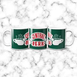 Taza Central Perk Green - Space Store Chile