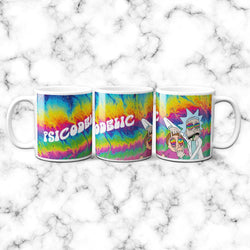 Taza R&M Psicodelic - Space Store Chile