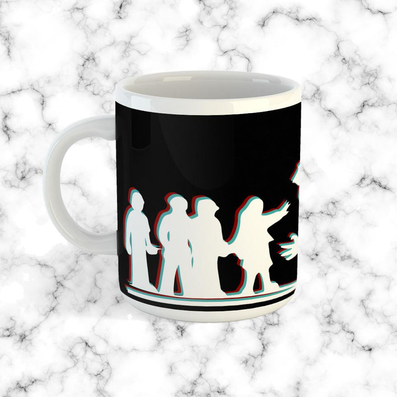 Taza ST Silueta Black - Space Store Chile