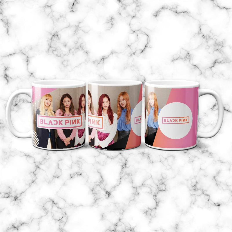 Taza Black Pink Integrantes - Space Store Chile