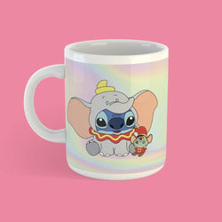 Taza Stitch Dumbo Holografico - Space Store Chile