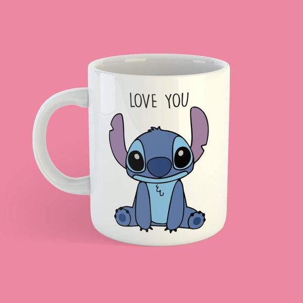 Taza Stitch Love You