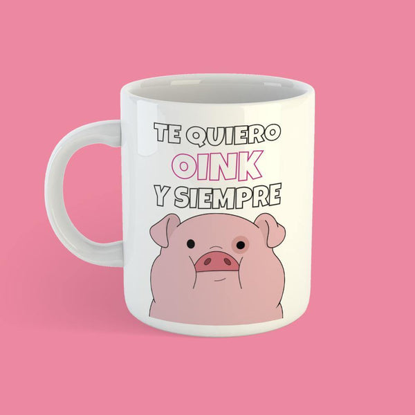 Taza Oink y Siempre - Space Store Chile