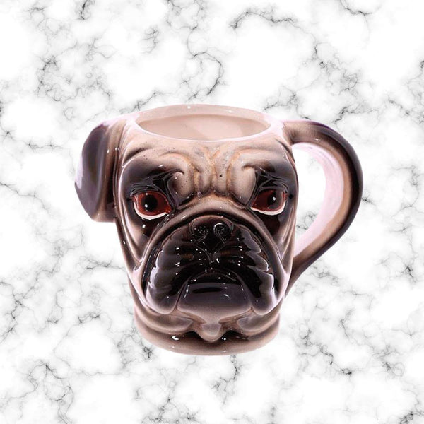Tazon Pug 3D - Space Store Chile