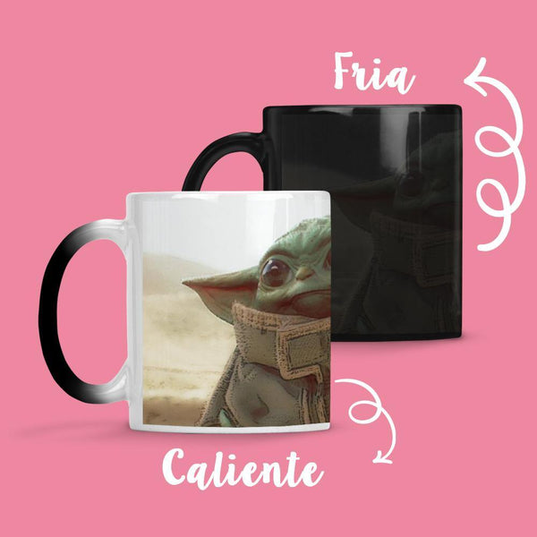 Taza Cambia Color Baby Yoda - Space Store Chile