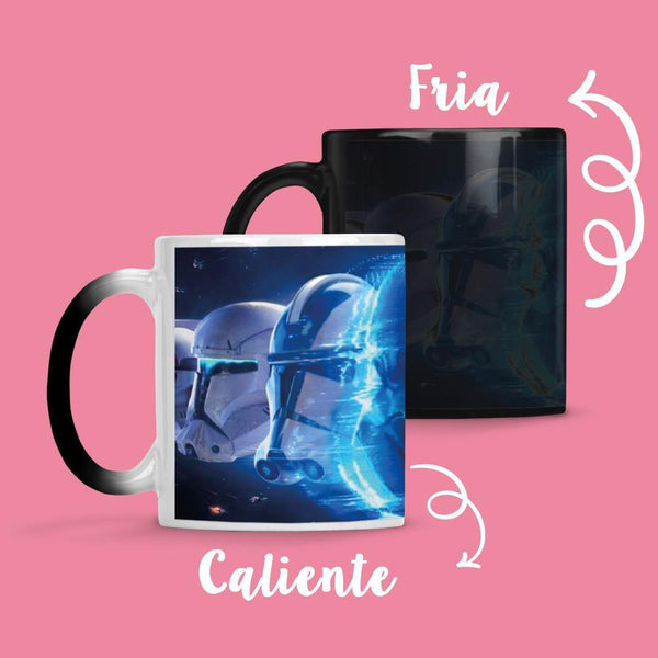 Taza Cambia Color Star Wars - Space Store Chile