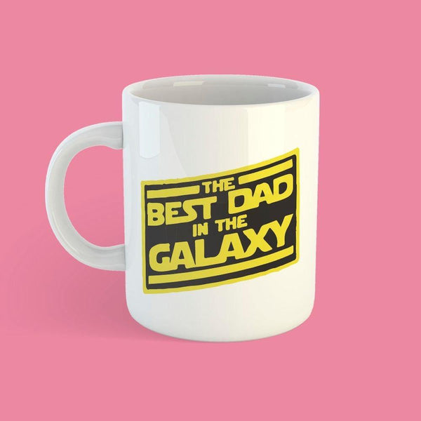 Taza Star Wars - Best Dad in the Galaxy - Space Store Chile