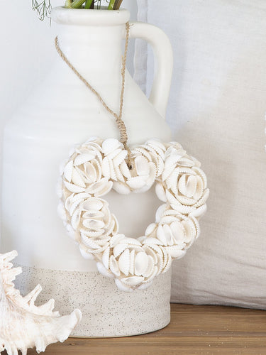 Shell Heart Hanger