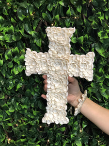 Peony Shell Cross Large