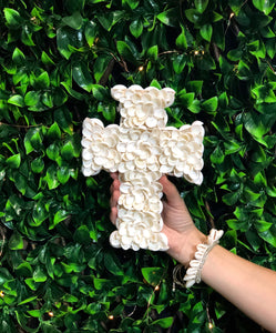 Peony Shell Cross Small