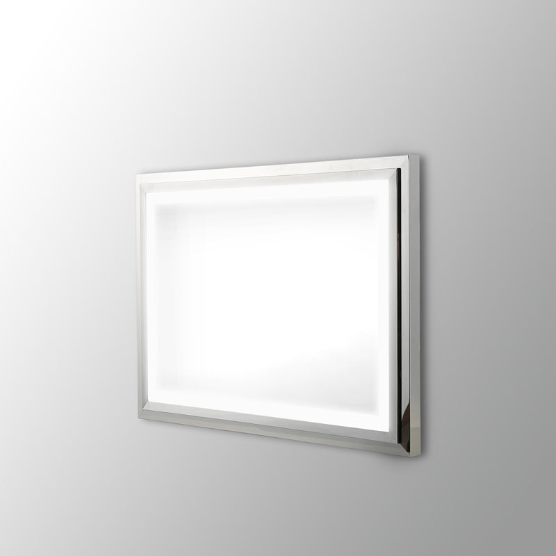 Eclipse Lighted Bathroom Vanity Mirror