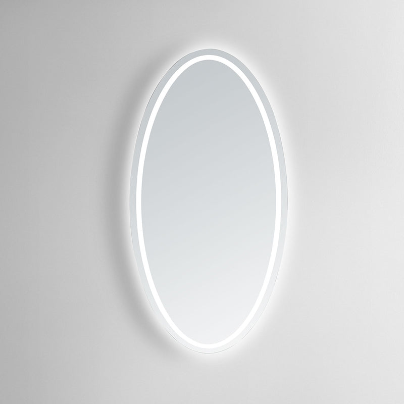 Venus Oval Lighted Bathroom Vanity Mirror - Modern Mirrors