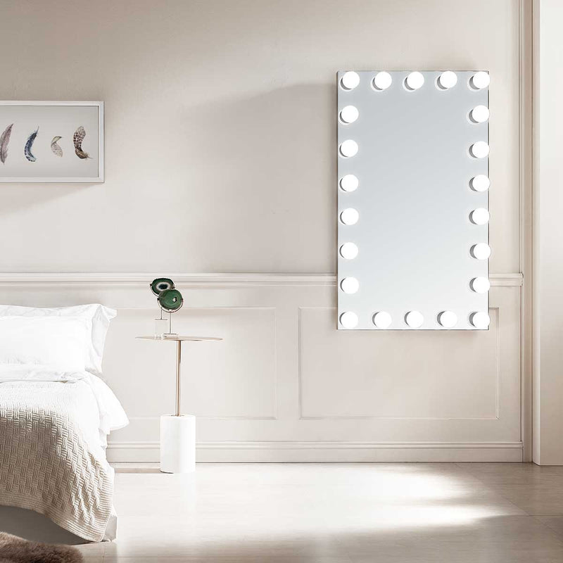 Galaxy 28 Lighted Hollywood Vanity Mirror - Modern Mirrors
