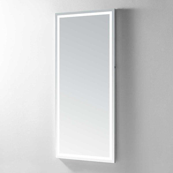 Hermes 70 Lighted Full-Length Vanity Mirror - Modern Mirrors