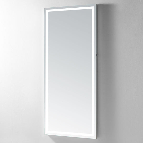 Hermes 85 Lighted Full-Length Vanity Mirror - Modern Mirrors