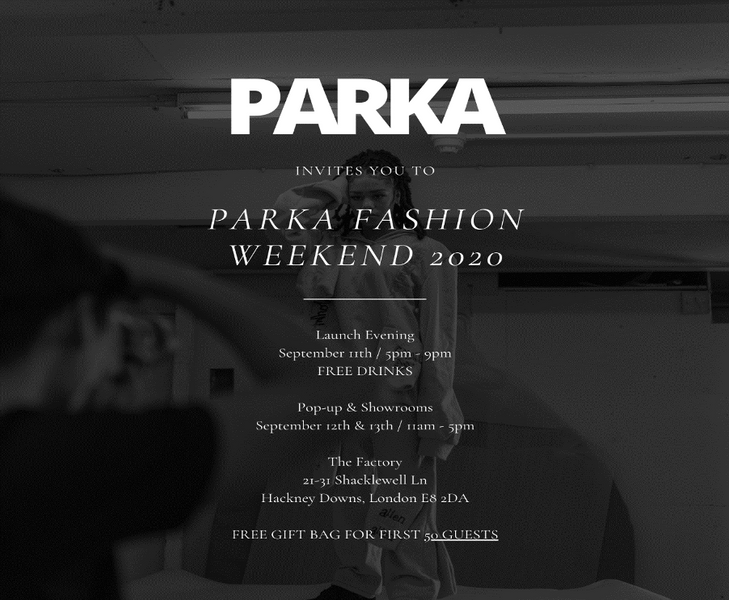 Circle Collective Collaboration: Parka Fashion Weekend 2020