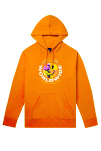 HUF Hoodie Oxy Pullover Electric Orange - Circle Collective