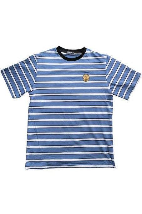 HANDY SUPPLY CO T-Shirt Striped Vintage Heavyweight Chalk Blue - Circle Collective